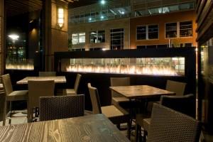 Custom See Through Earls Restaurant